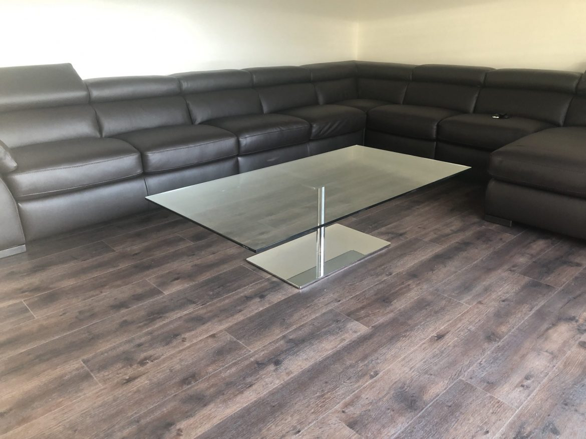 Tonelli Coffee Table with Metal base