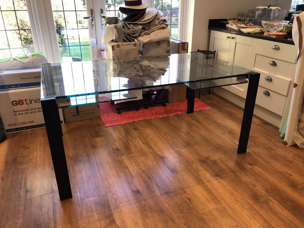 Tonelli Design Glass Table
