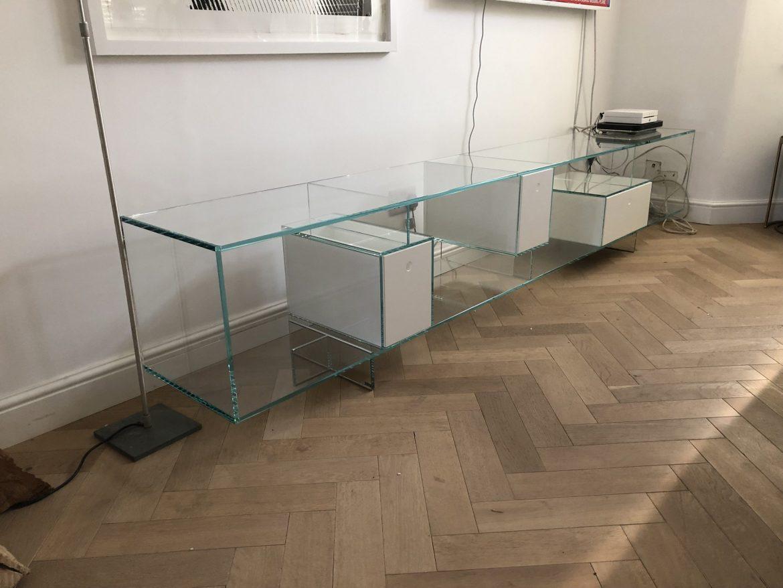 Libre Bespoke Glass Sideboard