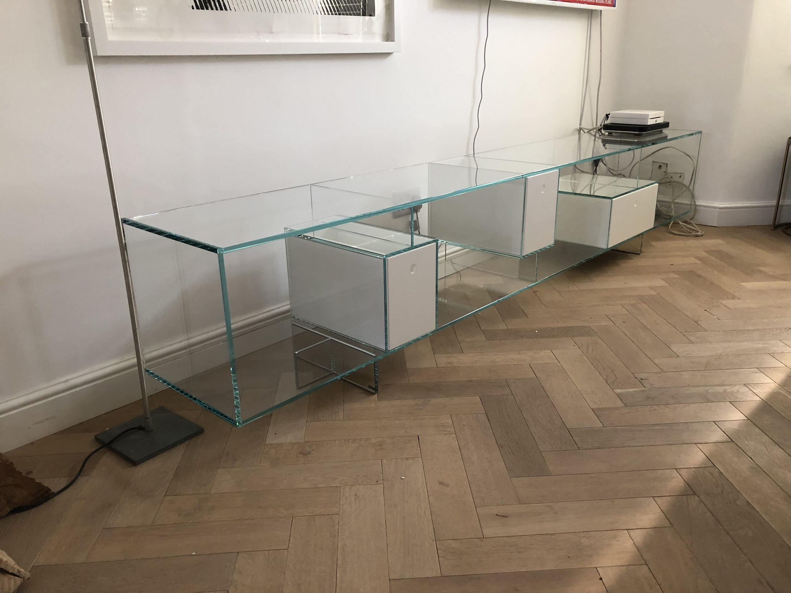Libre Bespoke Glass Sideboard