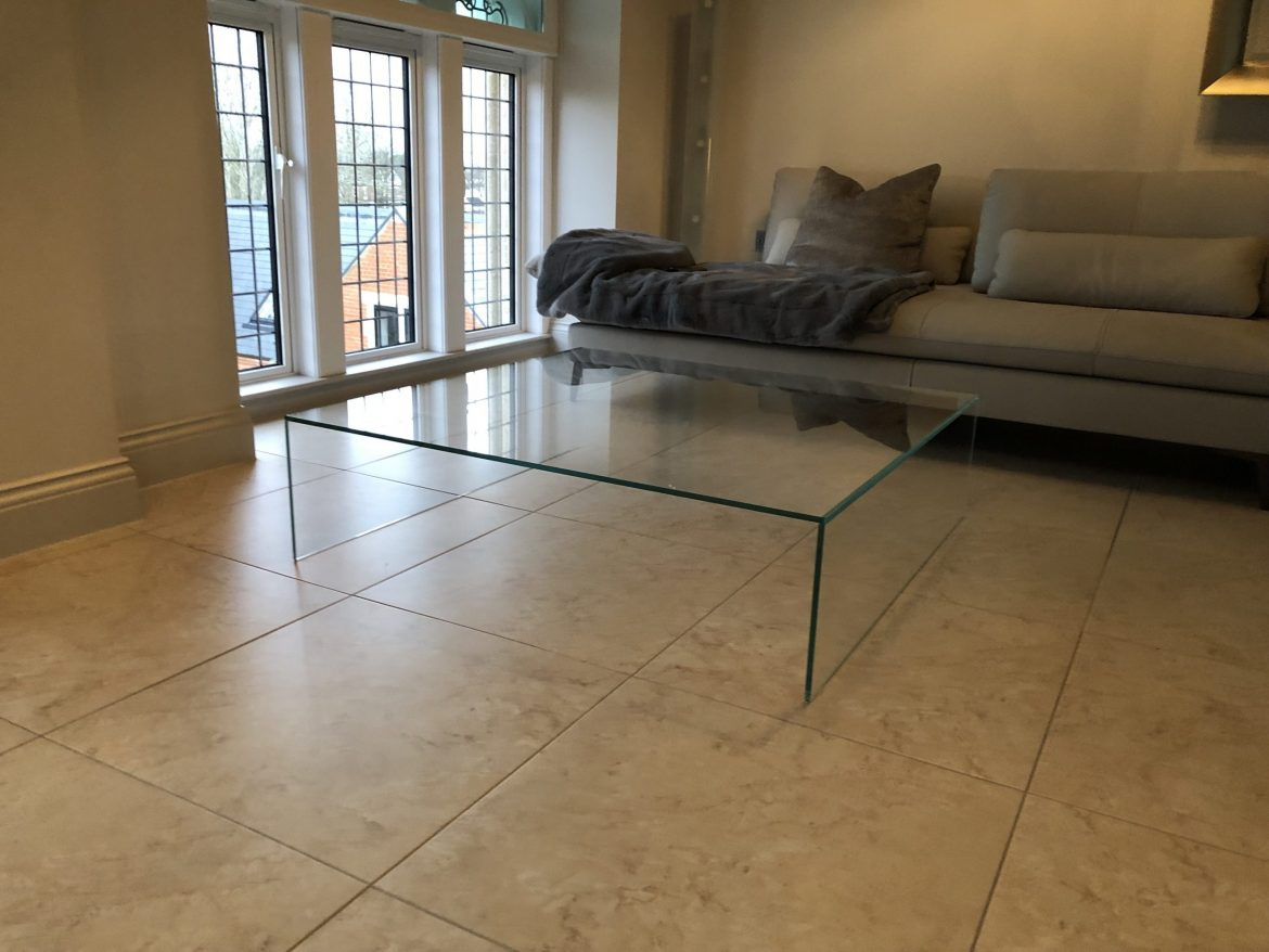 Glass Coffee table large size