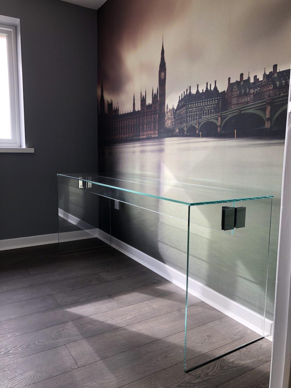 Bespoke Glass Desk