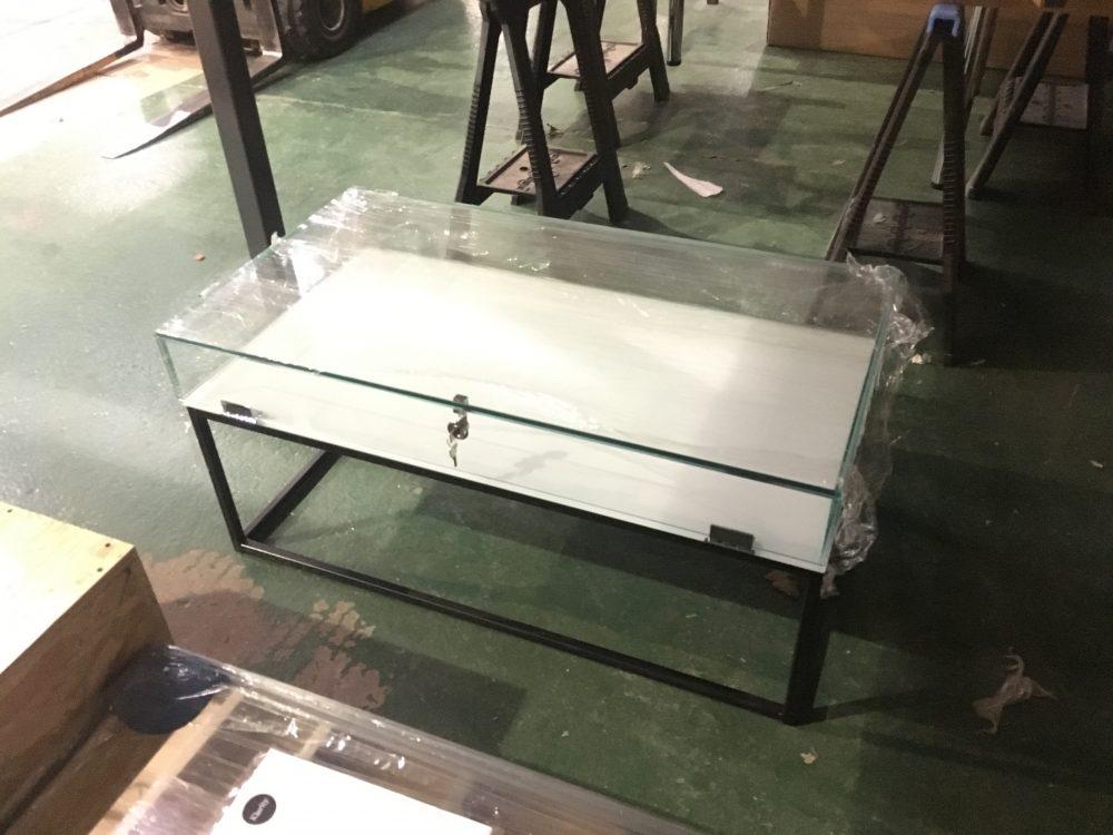 model display case