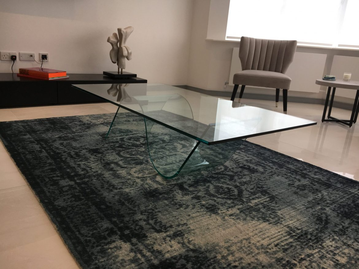 Curved S shape Coffee Table