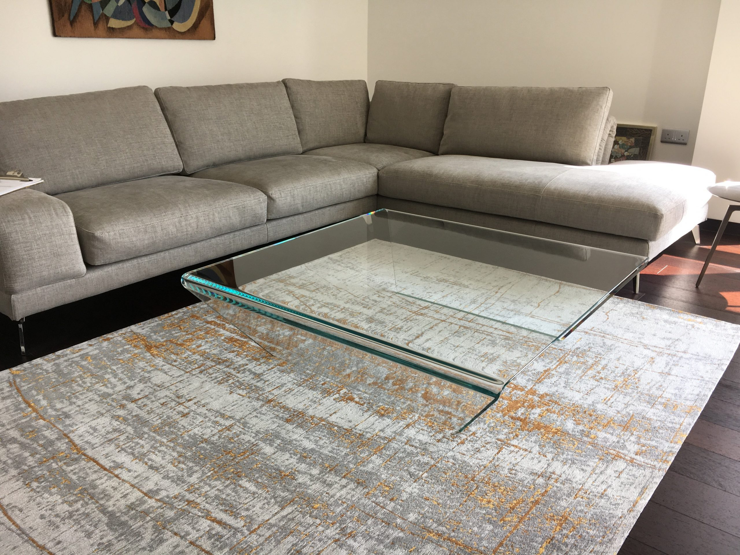 Rubino Glass Coffee table