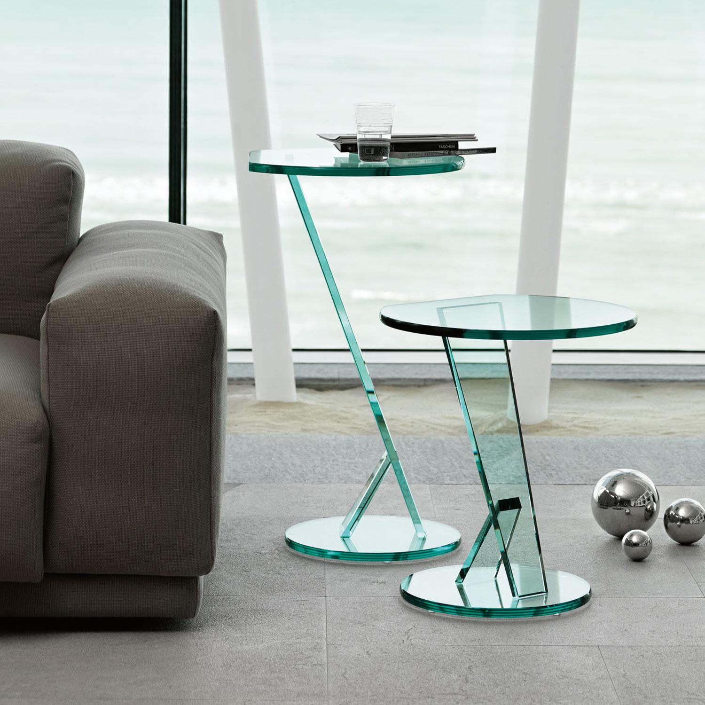 nicchio small glass table