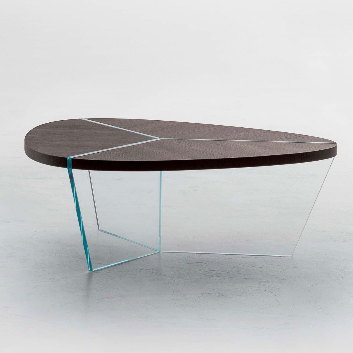 Aida Wood And Glass Coffee Table Klarity Glass Furniture