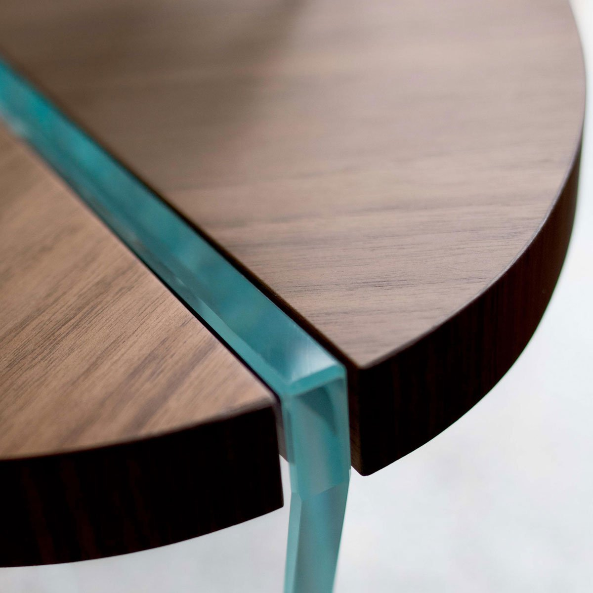 Ellenton Coffee Table With Storage: Aida Wood And Glass Side Table