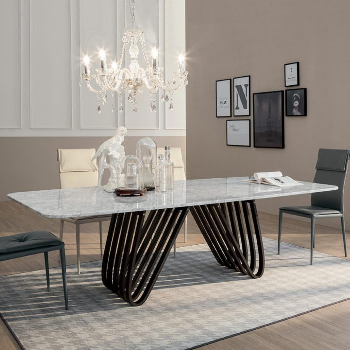 arpa contemporary dining table