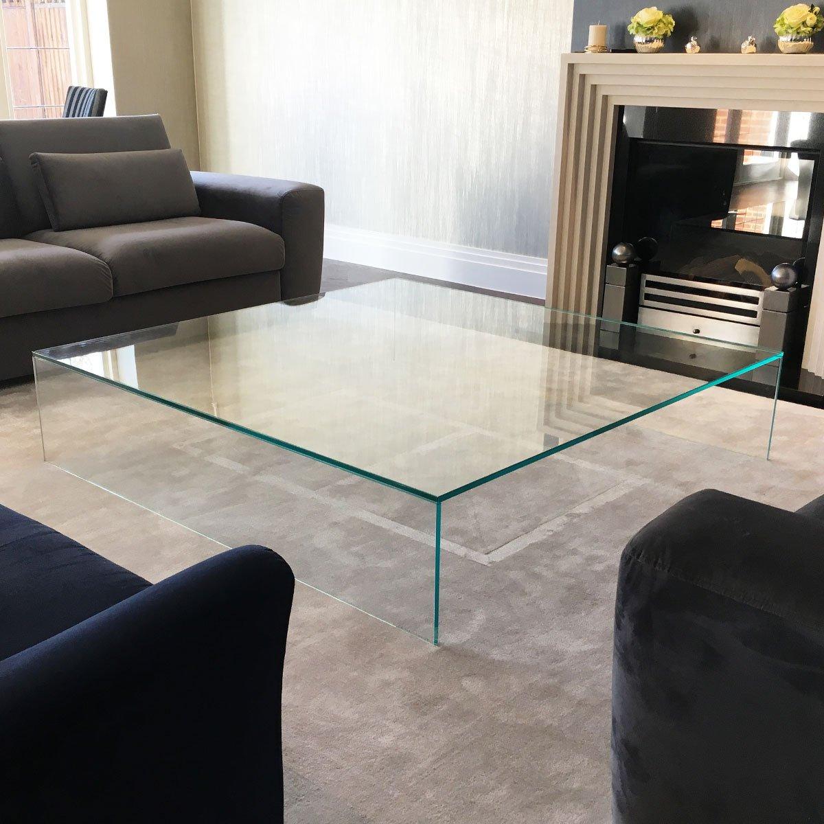 Judd Large Glass Coffee Table Klarity Glass Furniture
