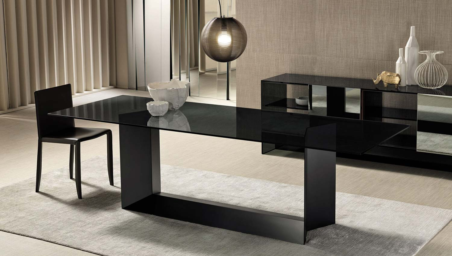 T5 Glass Dining Table Klarity Glass Furniture