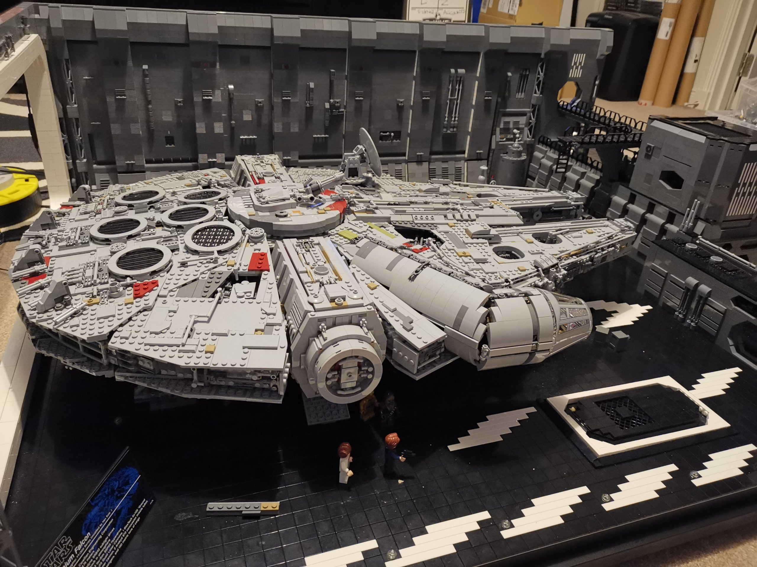 Lego Star wars coffee table