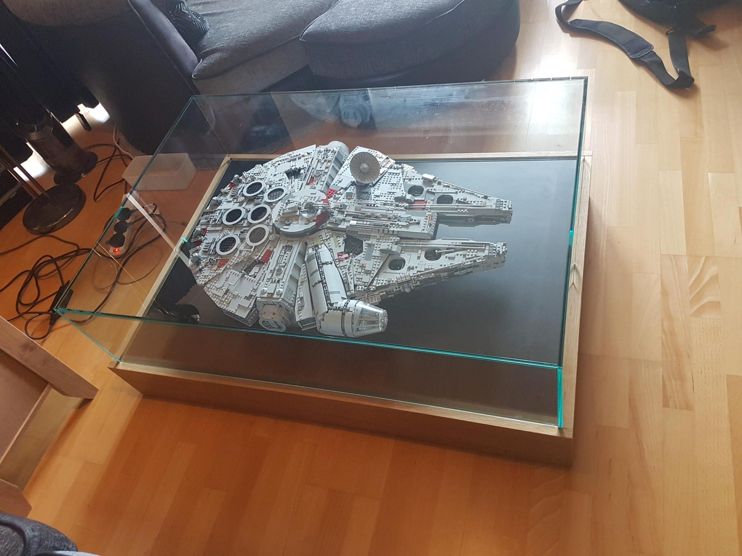 Lego Millennium Falcon Display Table